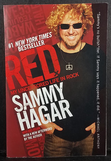 SOLD Red: My Uncensored Life in Rock by Sammy Hagar