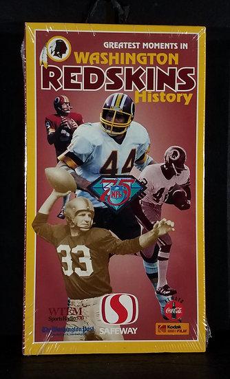 Washington Redskins Greatest Moments Sealed VHS Tape