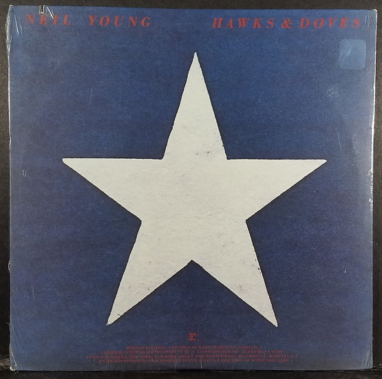 "Neil Young ""Hawks & Doves"", SEALED, Original 1980 LP"