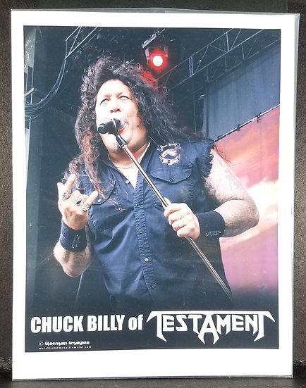 Testament Promo Photo/Original - Chuck Billy