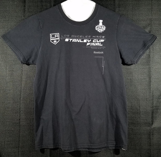 Official Los Angeles Kings Stanley Cup Shirt From Game 2 of 2014 Size + Extras