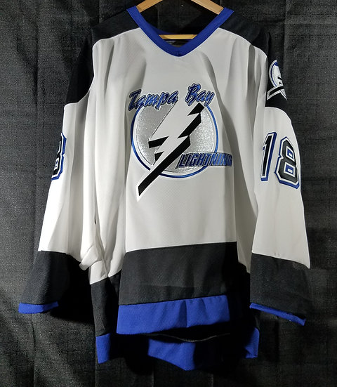 SOLD Tampa Bay Lightning Official Worn and Signed Practice Jersey