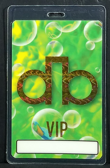 DAVID BOWIE 1995 Outside Tour Laminated Backstage Pass NINE INCH NAILS  Unused