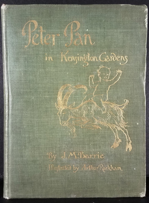 Peter Pan in Kensington Gardens by J.M. Barrie, 1908