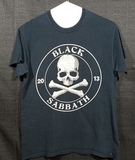 Black Sabbath Concert Shirt - 2013 - Medium