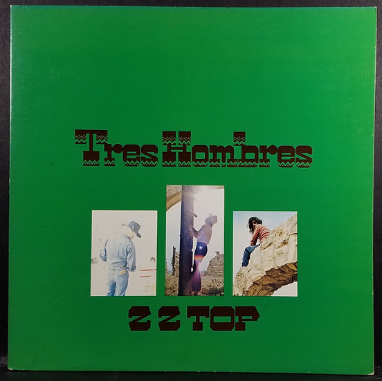 SOLD   ZZ Top Tres Hombres Album BSK- 3270 Very Good Condition Overall - Nice!