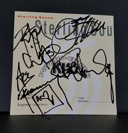"""KISSsigned """"Psycho Circus"""" Promotional CD (1998)"""