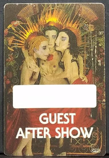Jane's Addiction Backstage Pass Guest/After Show 1991 Ritual de lo Habitual