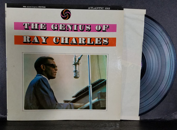 "Ray Charles LP ""The Genius Of Ray Charles,"""