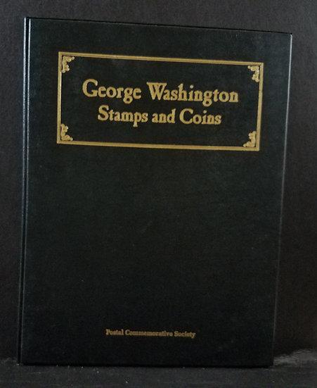 George Washington Stamps & Coins Postal Commemorative Folio