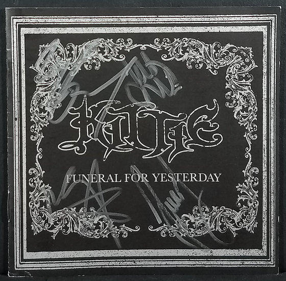 """KittieFully Signed CD """"FUNERAL FOR YESTERDAY"""""""