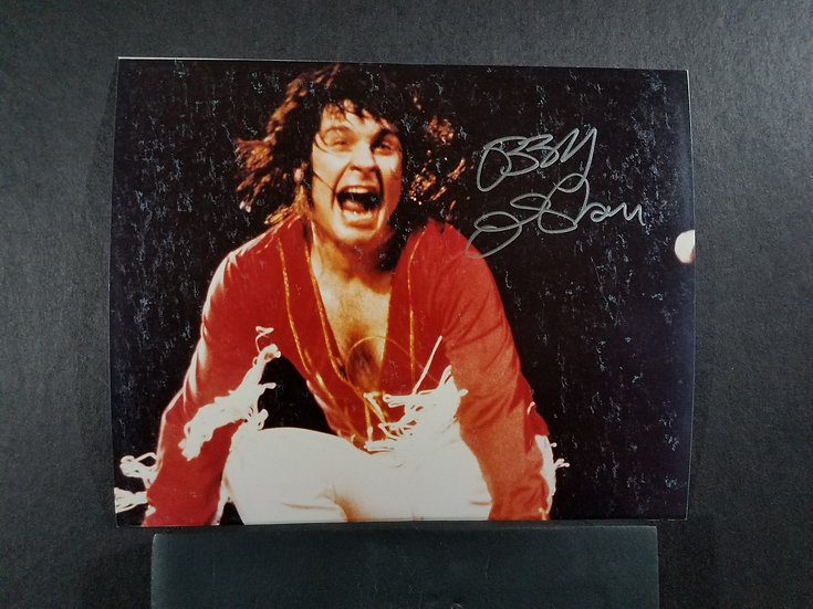 Ozzy Osbourne signed 8 by 10 concert photo $120.00 (OBO)