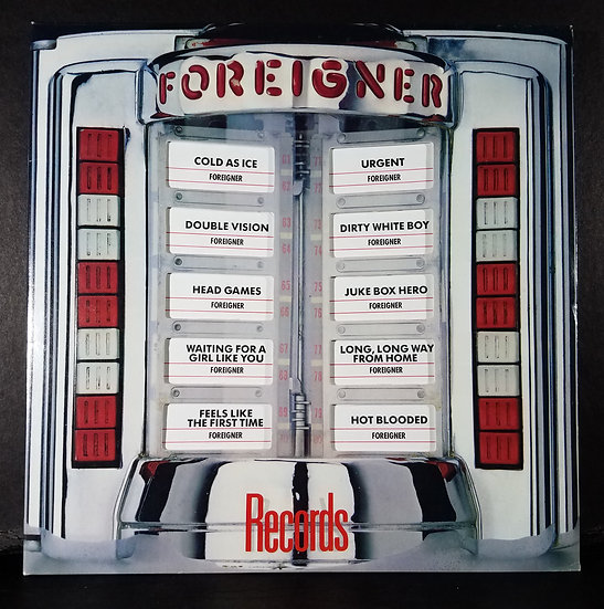 "Foreigner LP ""Records"""