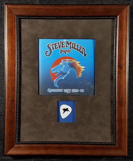 Steve Miller Framed Greatest Hits CD & Pick