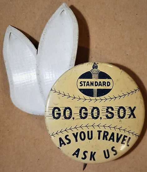 1959 Chicago White Sox/Standard Oil 'Go Go Sox' Pinback Button