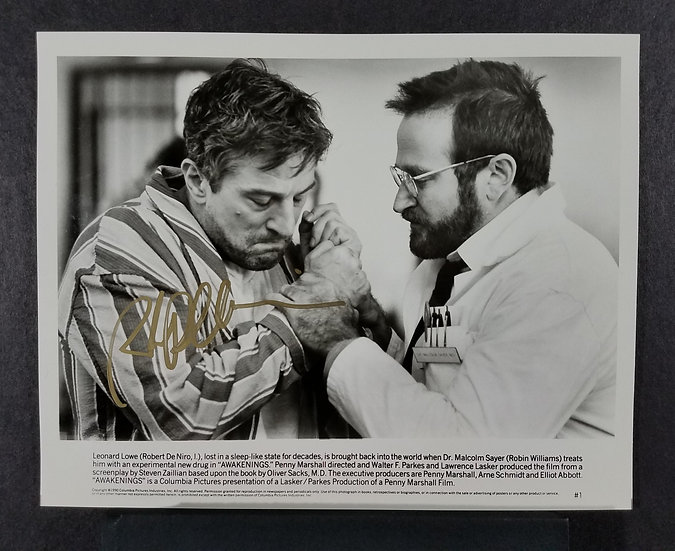 "Robert DeNiro ""Awakenings"" – signed by Robert DeNiro"