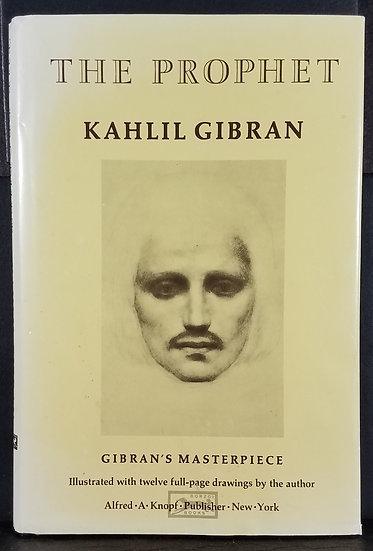 SOLD Kahlil Gabran - The Prophet, Hardcover, 1994