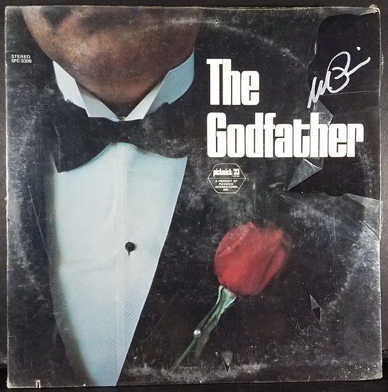 "Al Pacino signed ""The Godfather"" Soundtrack Vinyl LP"