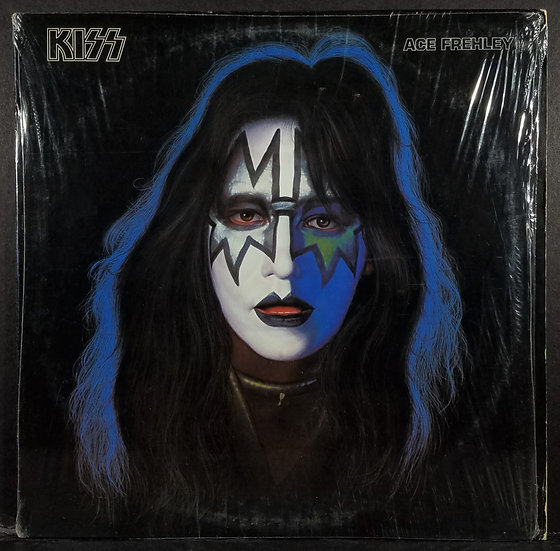 KISS Ace Frehley Solo LP In Shrink w/Poster, Merch Form, CD, Photo NBLP 7121 VG
