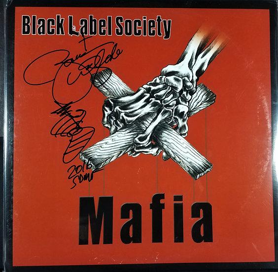 "Black Label Society signed ""Mafia"" LP/ Zakk Wilde"