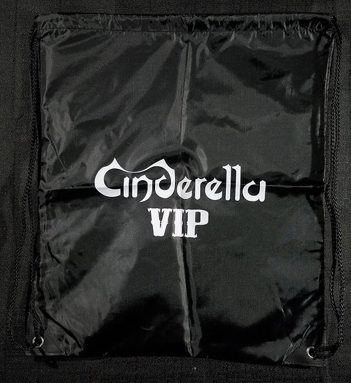 SOLD NEW Cinderella VIP Nylon Backpack 16 x 19 inches 2012