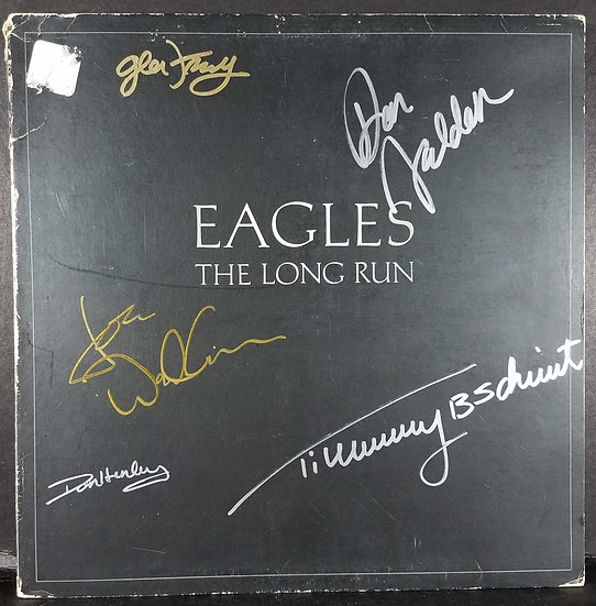 "The Eagles signed LP ""The Long Run"""