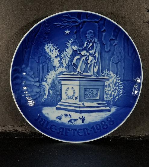 Royal Coppenhagen Plates from Dennmark:  Excellent Condition