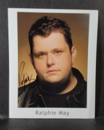 Ralphie May signed 8 x 10 photo