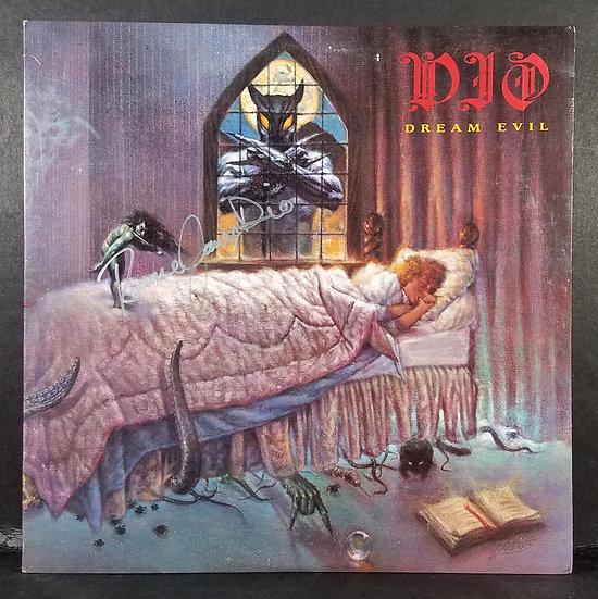 DIO signed Dream Evil LP