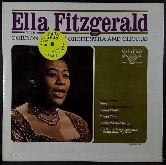 SEALED Ella Fitzgerald W/Gordon Jenkins' Orchestra & Chorus SEALED