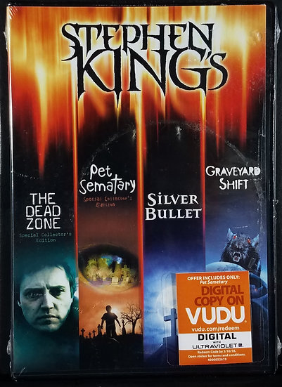 Sealed/New Dreamcatcher (Blu Ray)/ King Collection