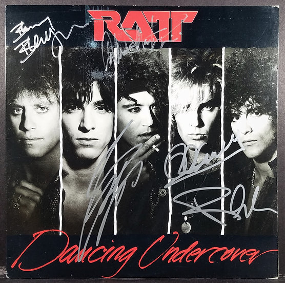 RATT signed Dancing Undercover by Five