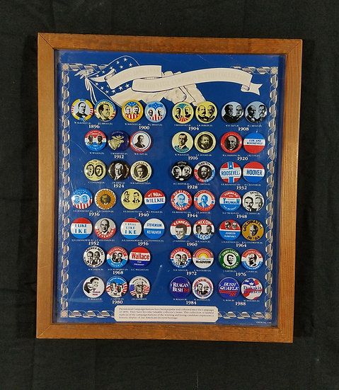 Replica Presidential Campaign Buttons Collection