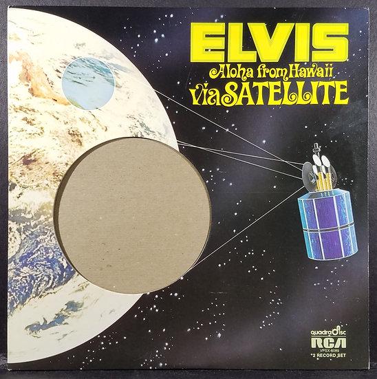 Elvis Presley: Aloha From Hawaii Via Satellite Vinyl Double LP Set, RCA, 1973
