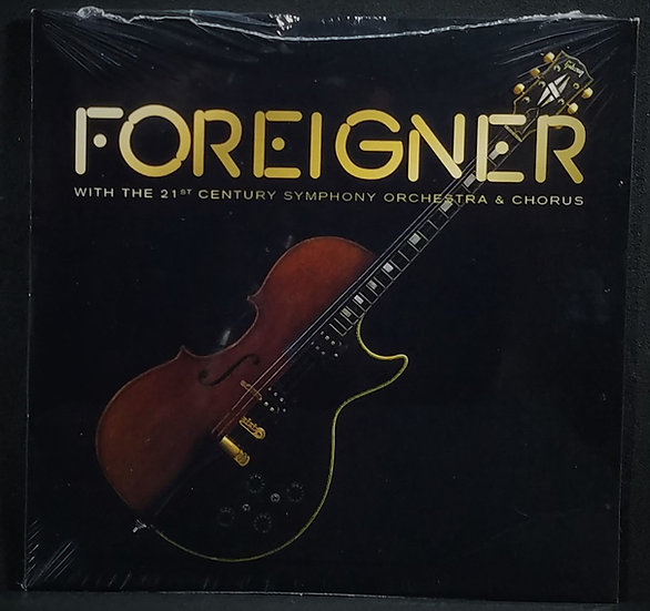 SOLD Foreigner W/21 Century Symphony Orchestra & Chorus, Live, New/Sealed