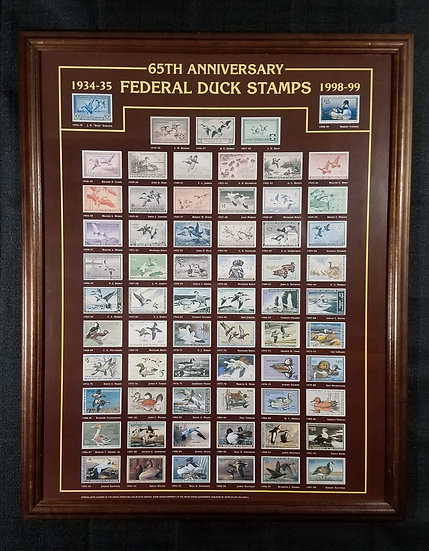 SOLD 65th Anniversary Federal Duck Stamps