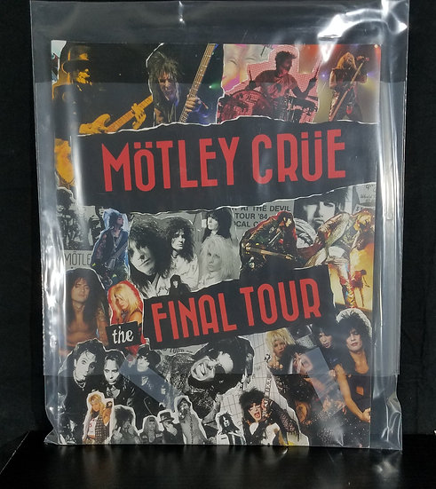 "Motley Crue""The Final Tour"" Tour Program"