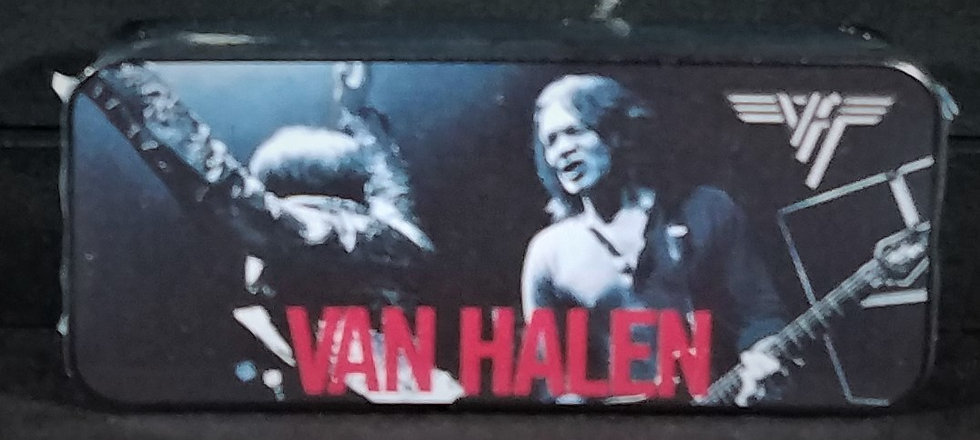 SOLD Van Halen VIP Guitar Pick Set Tin