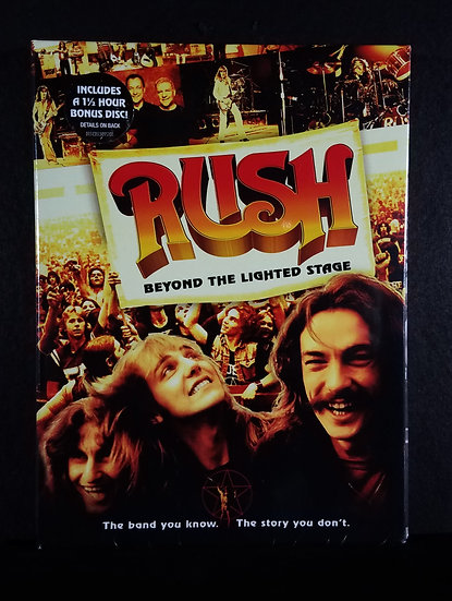 """Rush DVD """"Beyond the Lighted Stage"""" NEW/Unopened"""