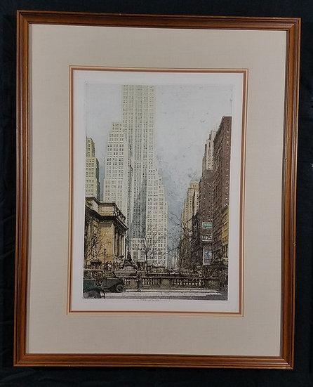 """Luigi Kasimir/""""500 Fifth Avenue NY"""""""