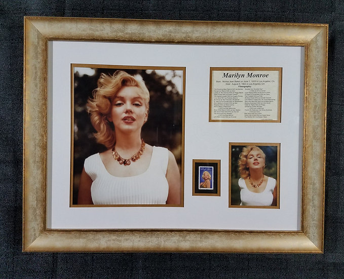 "Marilyn Monroe ""One-of-a-Kind Montage/Display"""