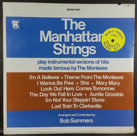 The Manhattan Strings Play Hits by Monkees, SEALED, 1967