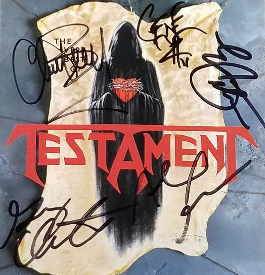 Testament Fully Signed Greatest Hits CD
