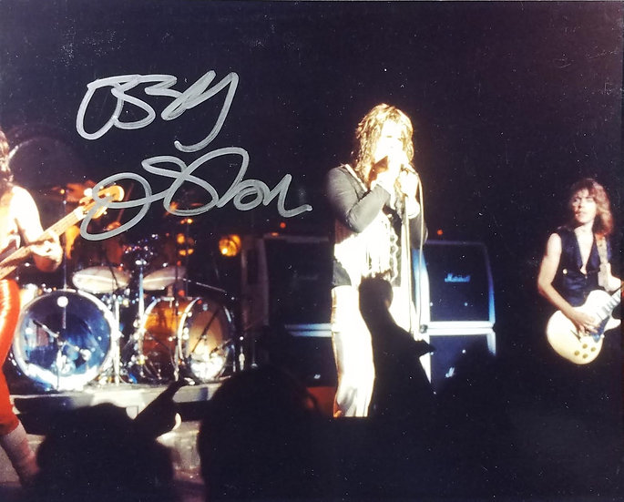 Ozzy Osbourne signed 8 x 10 Concert Photo w/ Randy R.
