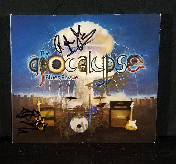 apocalypse Blues Revue (Godsmack) signed CD