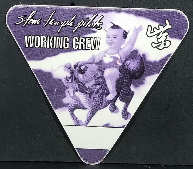 Stone Temple Pilots 1994 Working Pass, Unused, Excel. Cond.