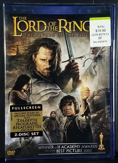 Sealed/New Lord of the Rings - Return Of The King