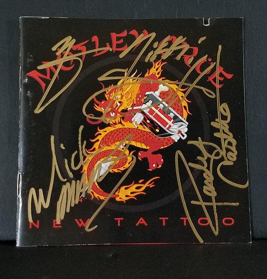 """SOLD Motley Cruesigned CD """"New Tattoo"""""""