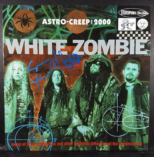 White Zombie Astrocreep-Creep: 2000 signed by Sean Yseult,