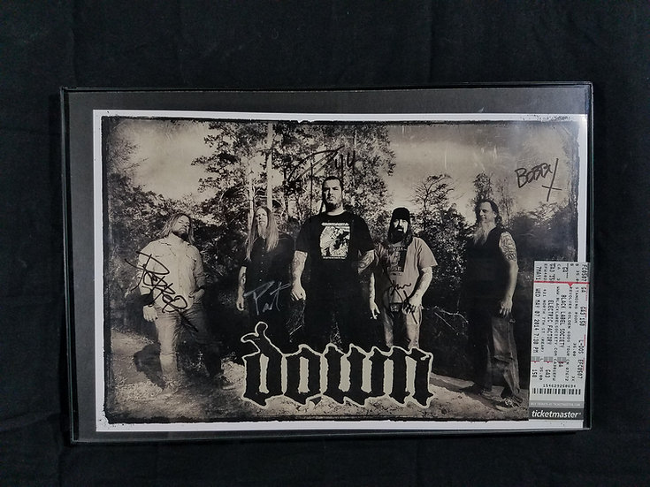 SOLD Downsigned promotional poster